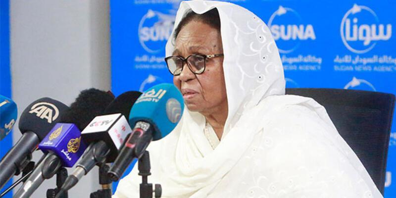 Sudan'da Egemenlik Konseyi Üyesi Aişe Musa Said görevinden istifa etti