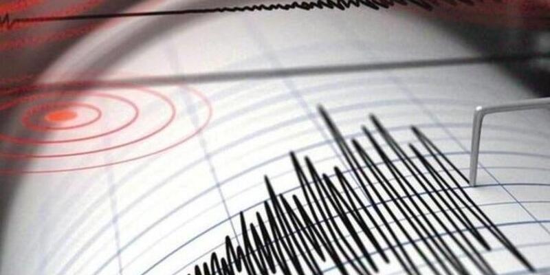 Son dakika... Ege Denizi'nde  3.7 büyüklüğünde deprem
