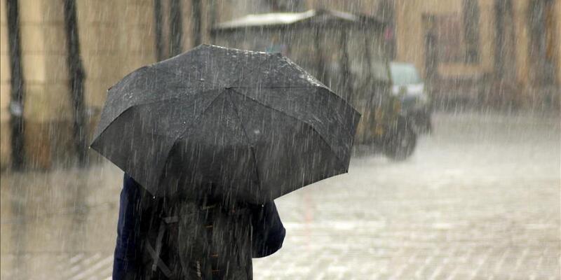 Meteoroloji'den 6 il için sağanak yağış uyarısı