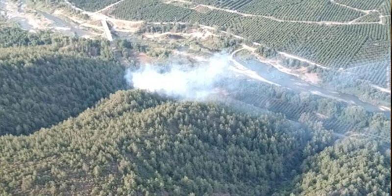 Muğla'da yangın ormanlık alana sıçradı
