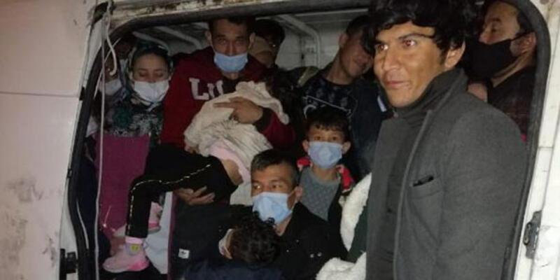 Van'da 66 kaçak göçmen yakalandı!