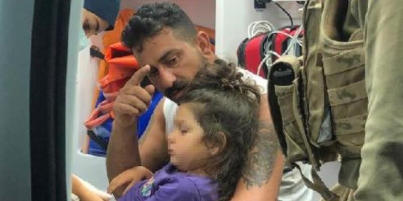 Ormanda kaybolan 4 yaşındaki Roza bulundu
