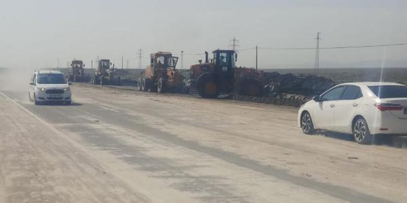 Sel sularıyla kapanan Iğdır-Nahçıvan yolu 5 saatte açıldı
