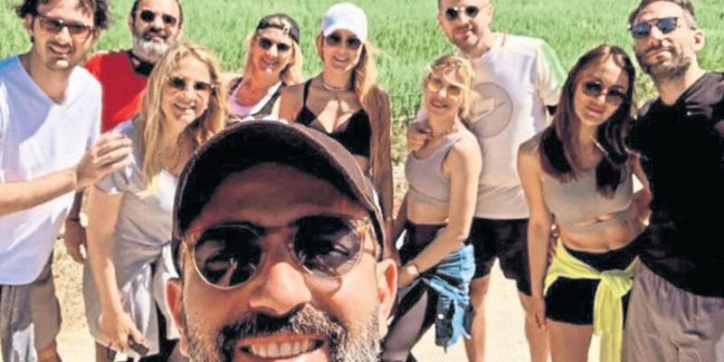 Merve Oflaz doğum gününü Urla'da kutladı