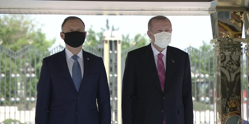 Polonya Cumhurbaşkanı Ankara'da