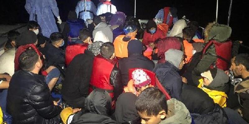Yunanistan'ın ölüme terk ettiği 46 kaçak göçmen kurtarıldı