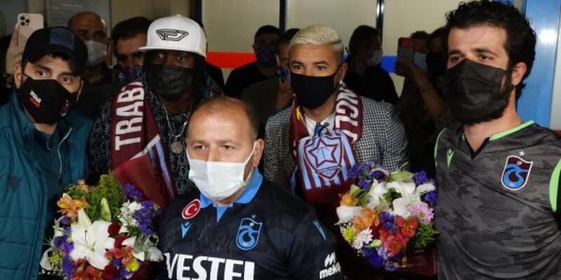 Gervinho ve Bruno Peres Trabzon'a geldi