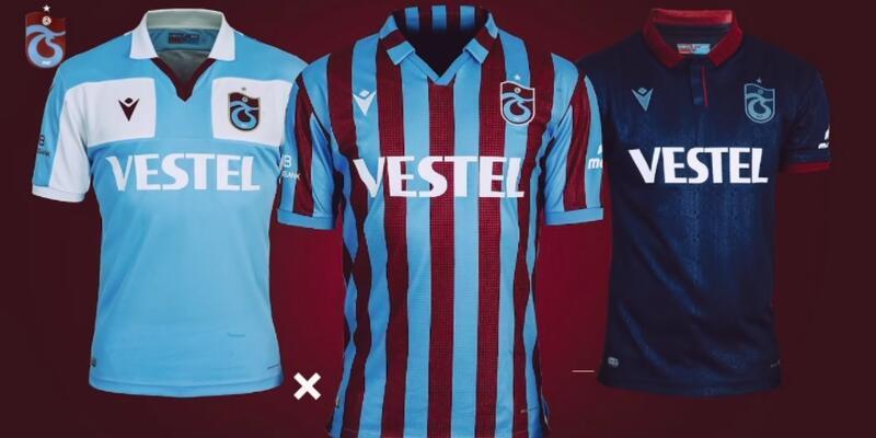 Trabzonspor'un 2021-2022 sezonu formaları