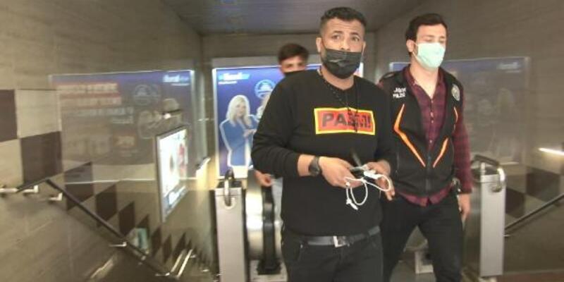 Gezi Parkı'nda gasp etti, Taksim Metro Durağı'nda yakalandı