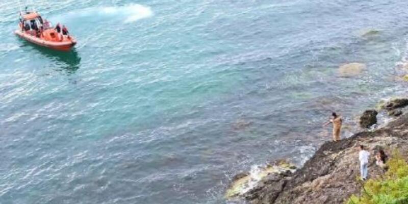 2 kadın kayalıklarda mahsur kaldı