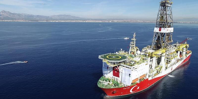 Fatih gemisi Türkali-3'te sondaja başladı