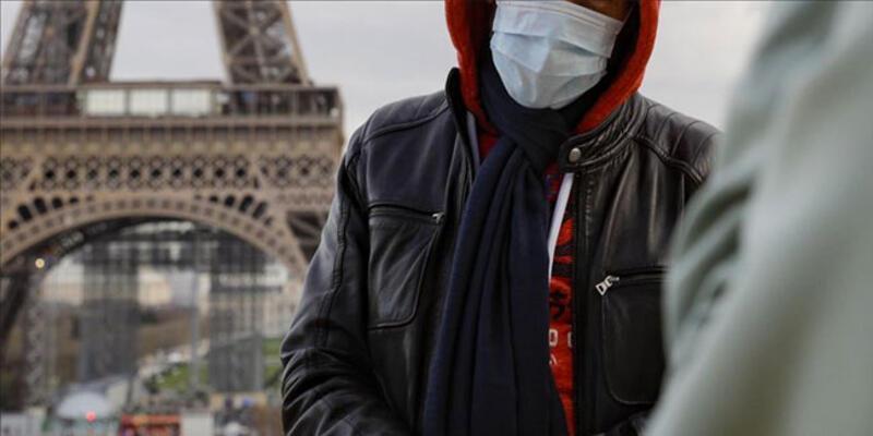 Fransa'da son 24 saatte 10 bin 675 Kovid-19 vakası tespit edildi