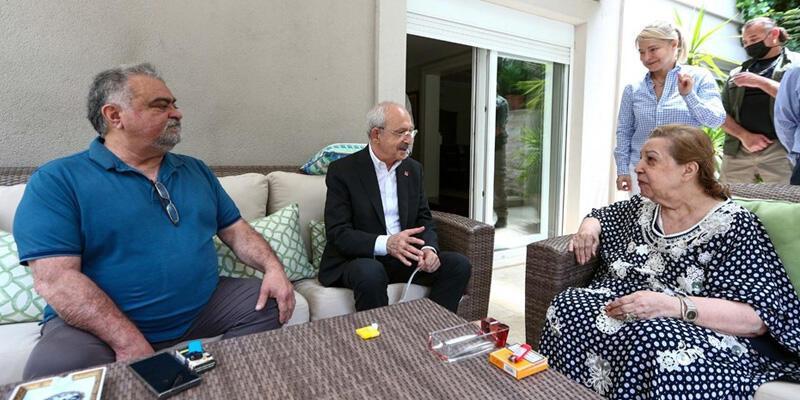 CHP Genel Başkanı Kılıçdaroğlu'ndan Özal ailesine ziyaret