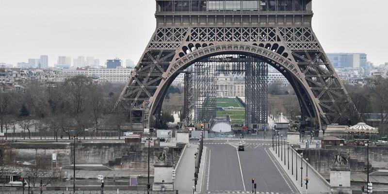 Fransa'da son 24 saatte 8 bin 541 Kovid-19 vakası tespit edildi