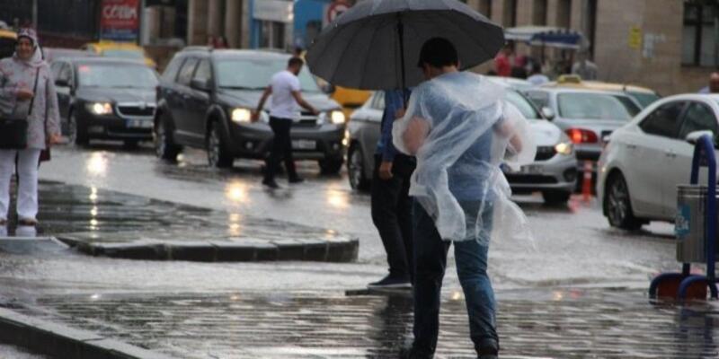 31 Mayıs 2021 Pazartesi hava durumu: Meteoroloji'den bazı bölgelere sağanak uyarısı!
