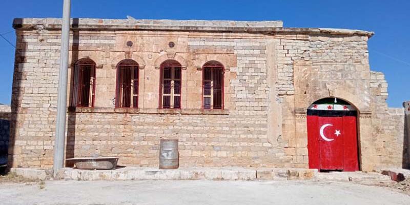 Atatürk'ün Afrin'de konakladığı ev temizlendi; çalışmaların ardından restore edilip müze olacak