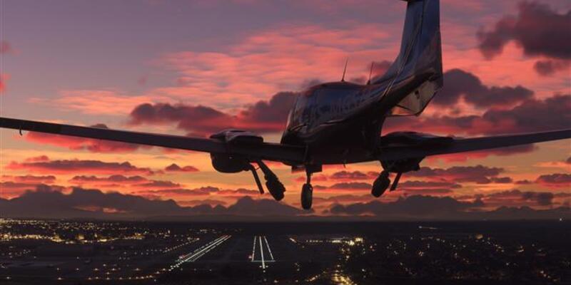 Microsoft Flight Simulator'un dosya boyutunu düşürdü