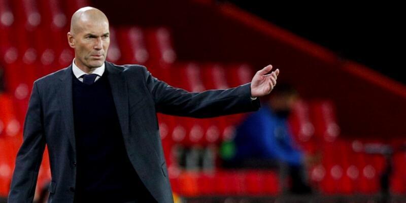 Zinedine Zidane'dan yönetime tepki