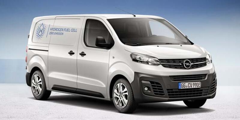 Opel'den hidrojenli ticari Vivaro