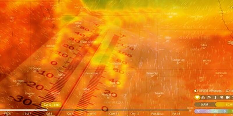 ABD kavruluyor: Sıcaklıklar rekor kırabilir