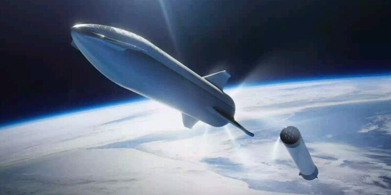 SpaceX okyanusun üstünde uzay limanı çalışmalarına başladı