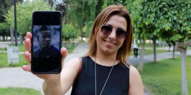 Adana Demirspor taraftarından Balotelli'ye mesaj