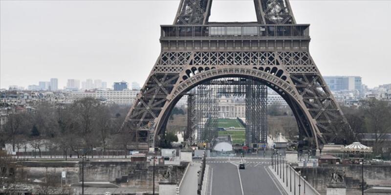 Fransa'da son 24 saatte 8 bin 743 Kovid-19 vakası görüldü
