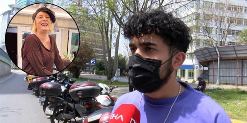 """Kuryeyi alıkoyduğu iddia edilen İpek Hattat, hakim karşısına çıktı; """"Üşümemesi için içeri davet ettim"""""""