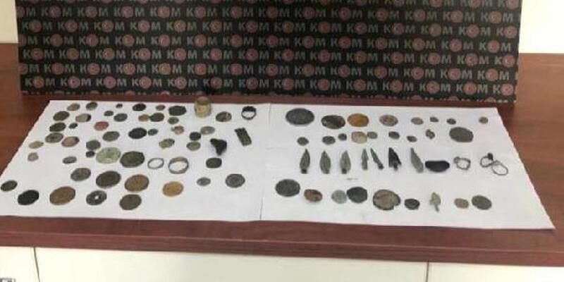 Aydın ve Konya'da 'tarihi eser' operasyonu: 5 gözaltı