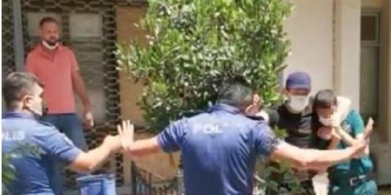 Engelli memuru bıçakla rehin alan şüpheli tutuklandı