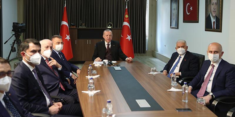 Cumhurbaşkanı Erdoğan, Denizkurdu 2021 Tatbikatı'na canlı bağlantıyla katıldı