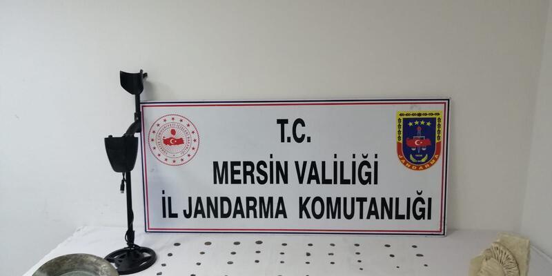 Mersin'de tarihi eser operasyonu: Hepsi ele geçirildi