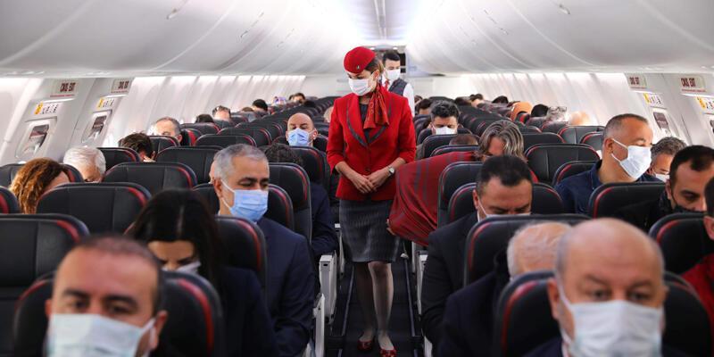 THY son 15 ayın en yüksek günlük uçuş sayısına ulaştı
