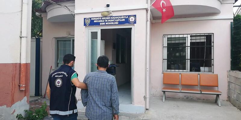 Güvenlik tehdidi koduyla Türkiye'ye giriş yasağı olan Suriyeli yakalandı
