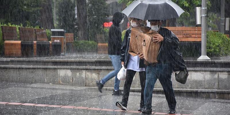 Hava durumu 6 Haziran 2021 Pazar… Meteoroloji yağış alacak bölgeleri açıkladı