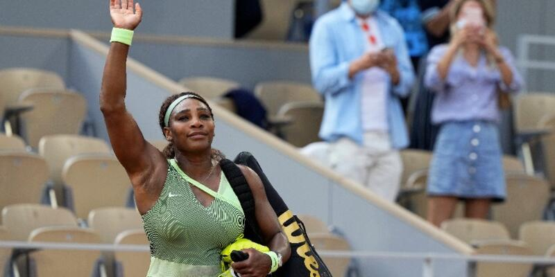 Serena Williams Fransa Açık'a veda etti