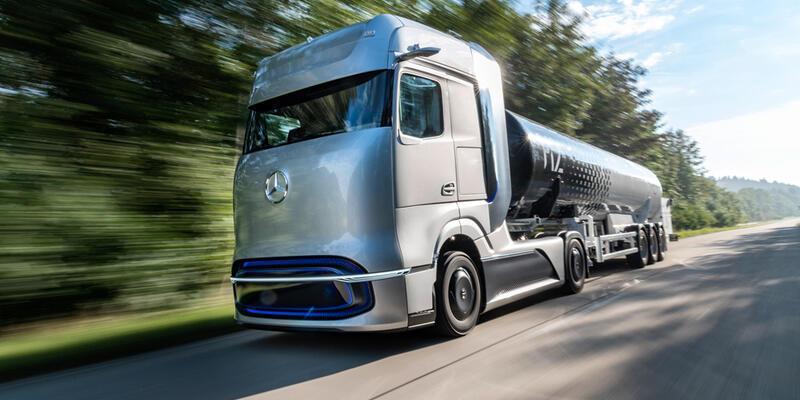 Yakıt hücreli kamyon yollara çıkıyor