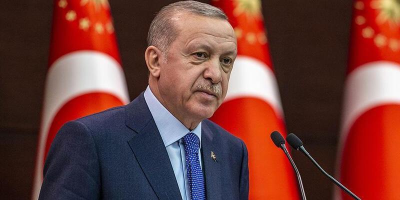 Cumhurbaşkanı Erdoğan, şehit Şeker'in ailesine başsağlığı diledi