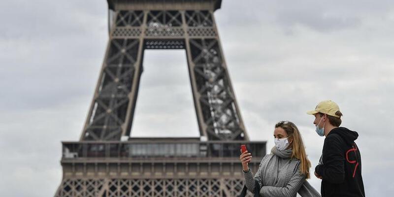 Fransa'da Kovid-19'dan son 24 saatte 66 kişi hayatını kaybetti
