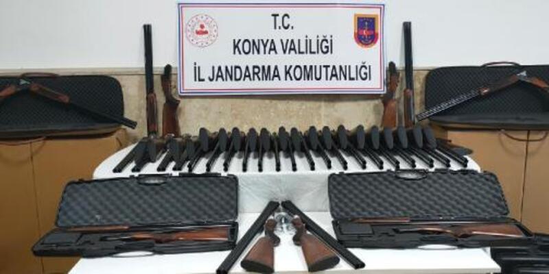 85 yivsiz tüfekle yakalanan şüpheli serbest kaldı