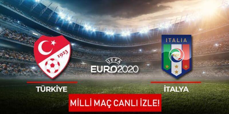 Türkiye-İtalya maçı canlı izle! EURO 2020 Milli maç canlı yayın izleme bilgileri (TRT 1) 11 Haziran 2021