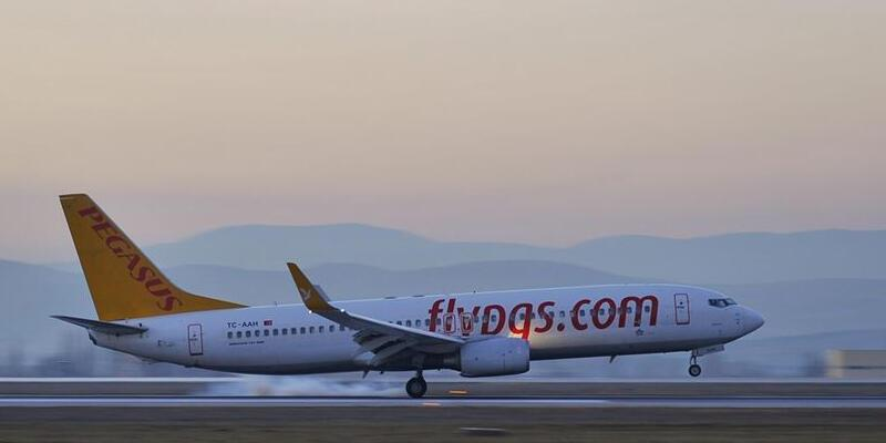Pegasus'un Ankara-Dubai seferleri 2 Temmuz'da başlayacak