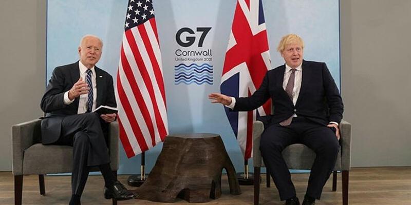 İngiltere Başbakanı Johnson, ABD Başkanı Biden ve Avustralya Başbakanı Morrison ile görüştü