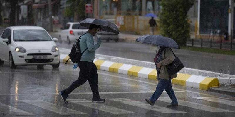 O bölgelere sağanak yağış uyarısı! 14 Haziran 2021 Pazartesi il il hava durumu