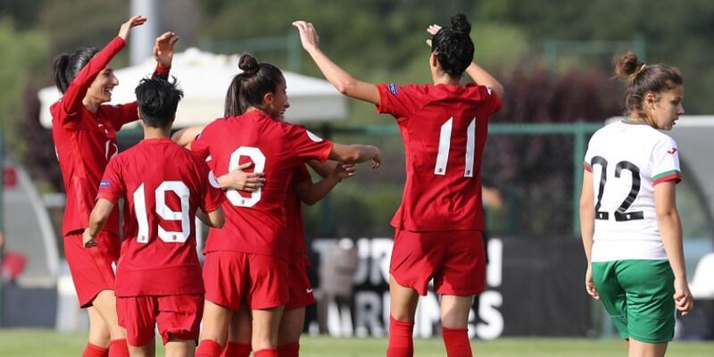 Türkiye Bulgaristan'ı 3-1 yendi