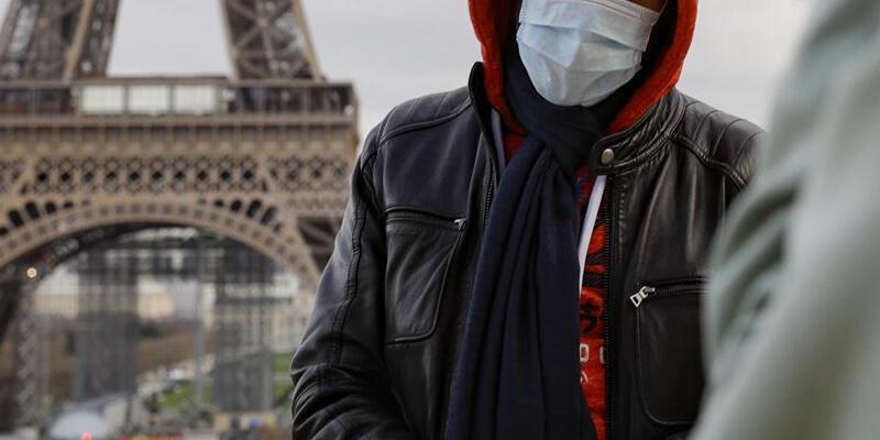 Fransa'da son 24 saatte 3 bin 235 Kovid-19 vakası görüldü