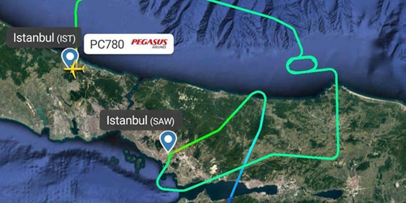 İstanbul'da uçuşlara yağmur engeli - Günün Haberleri