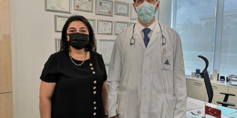 Koronavirüs sonrası nefes borusu daralan kadın ölümden döndü