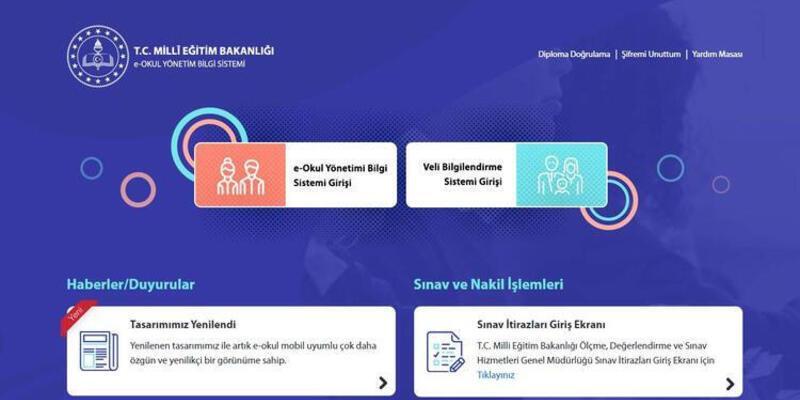 e-Okul karne notları görüntüleme sayfası 2021: Dijital karnelere nasıl bakılır? e-Okul VBS giriş ekranı meb.gov.tr!
