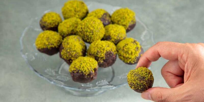 Fıstık ezmeli tatlı toplar tarifi - Fıstık ezmeli tatlı toplar nasıl yapılır?